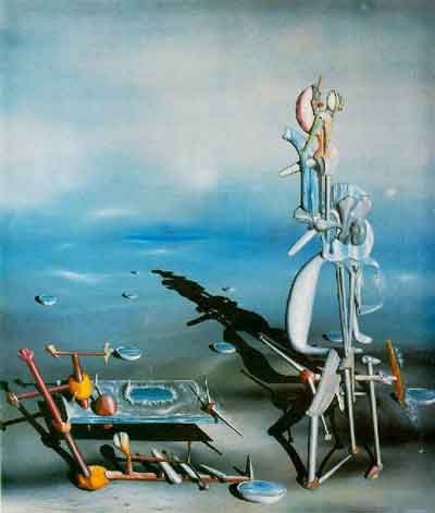 Indefinite divisibility 1942 by Yves Tanguy