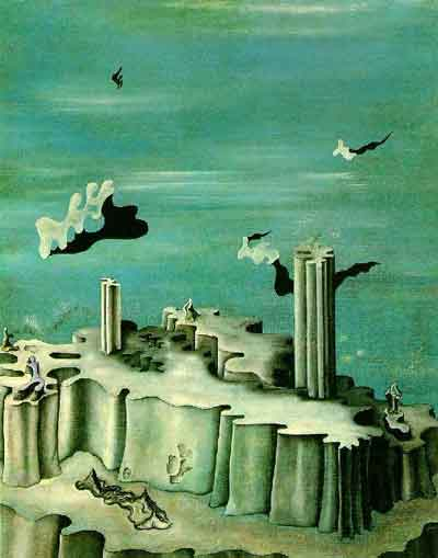 Neither legends nor figures 1930 by Yves Tanguy