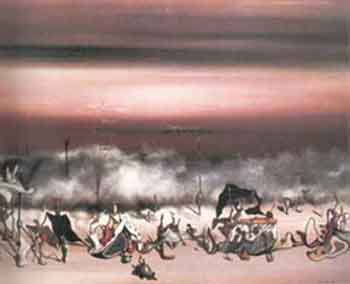 The ribbon of extremes 1932 by Yves Tanguy