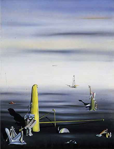 The sun in its jewel case 1937 by Yves Tanguy