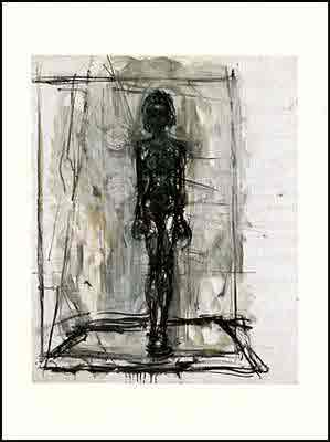 Small nude by Alberto Giacometti