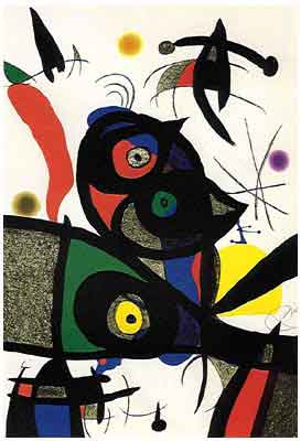 Oda a Joan Miro 1973 (lithograph) by Jean Miro