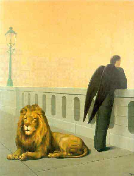 Homesickness 1941 by Rene Magritte