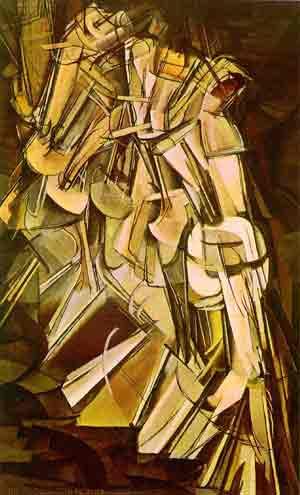Nude descending a staircase no2 1912