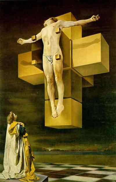 Crocifissione by Salvador Dali