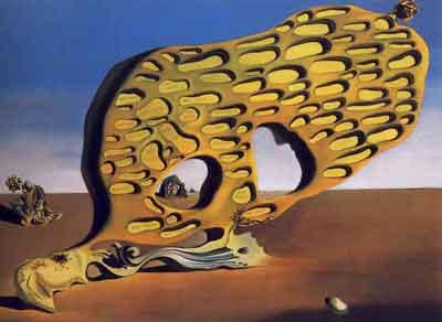 The enigma of desire 1929 by Salvador Dali