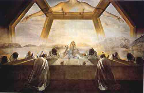 The sacrament of the Last Supper 1955 by Salvador Dali