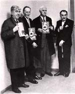 Magritte,Duchamp,Ernst and Ray 1960
